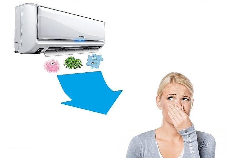 Регулярная очистка кондиционера гарантирует отсутствие вредных микробов в воздухе и долгую работу