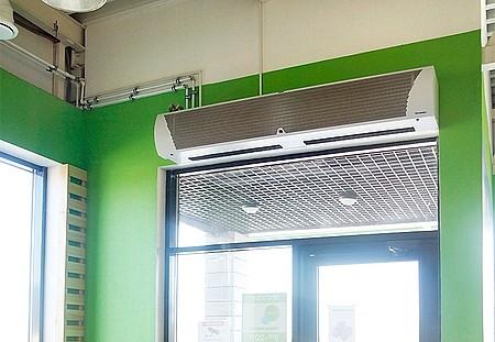 Водяные тепловые завесы Тепломаш КЭВ купить в Красноярске